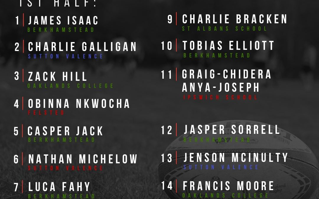 Four Wolves rugby stars selected for Saracens U18s
