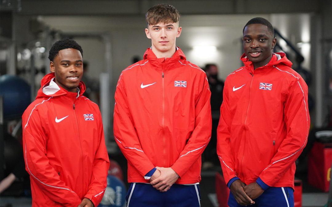 Athletics students gain first GB U20s vests