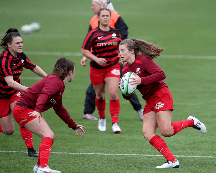 Oaklands Wolves and Saracens Women U16-U18 programme goes from strength to strength