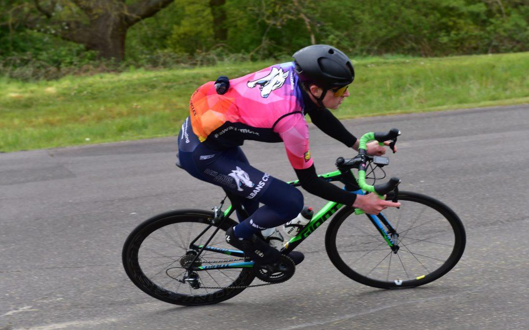 Cycling duo race towards professional status